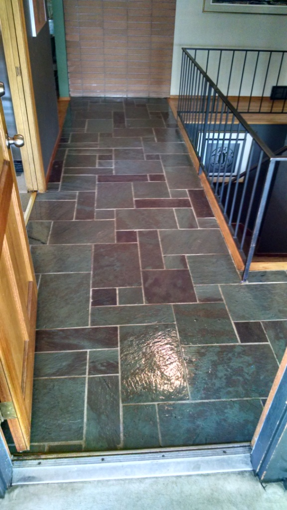 Guaranteed Cleaning Slate Floor Cleaning Polishing Gallery
